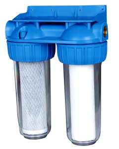Two Stage Water Filter Housing (RY-US-10) pictures & photos