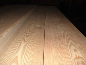 Engineered Larch Floor