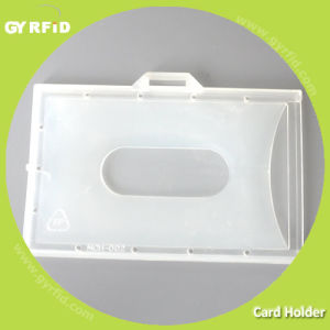 Rugged Plastic, Double Layer, Transparent White Ma Holder for Card pictures & photos