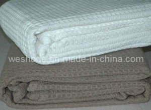 100% Soft Chenille Waffle Blanket pictures & photos