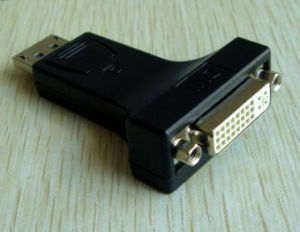 Display Port to DVI (24+5) Converter Adapter (GW-0067-2)