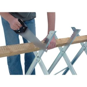 Saw Horse Chainsaw Folding Sawhorse Serrated Grip