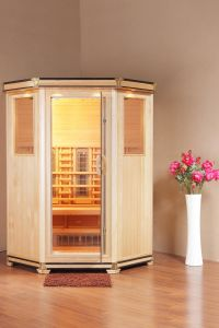 Wooden Infrared Sauna Cabin (Royal-III-H1)