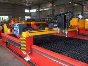 CNC Plasma Cutting Machine with Integral Table Type pictures & photos