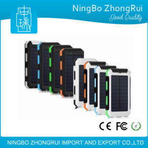 Waterproof 10000 mAh Polycrystalline Solar Portable Mobile Power Bank pictures & photos
