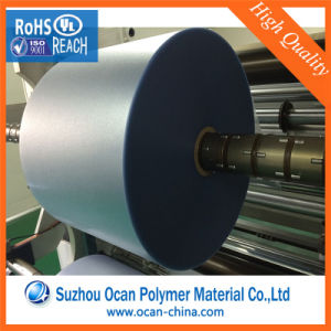 0.18mm Plastic PVC Embossed Film Roll for Screen Printing pictures & photos