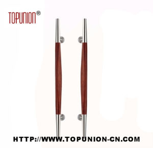Good Quality Stainless Steel Wooden Pull Handle (TU-349) pictures & photos