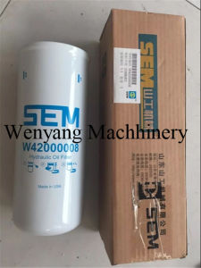 Sem 658 659 Wheel Loader Genuine Parts Hydraulic Oil Filter pictures & photos