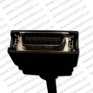 Mdr 26pin Connectors for Adapter Coaxial Cable