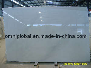 Oriental White Marble Stone Slab/ Tile/ Mosaic