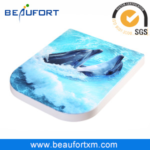HD Inkjet Duroplast Toilet Seat Soft Close Toilet Seat Covers