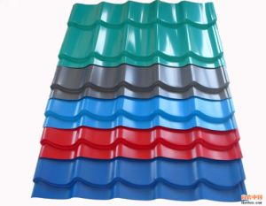 Factory Suppling High Quality Color Coated Galvanized Roofing Sheet pictures & photos