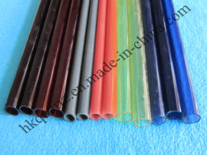 Red/Ruby/Blue/Yellow Quartz Tube, Ruby Red Quartz Glass Tube, Infrared Quartz Tube, Red Tubes with Reach pictures & photos