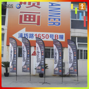 Cheap Price Printed Teardrop Feather Fabric Banner Flag pictures & photos