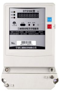 Three-Phase Four-Wire Electronic Static Meter (DTS188 H2)