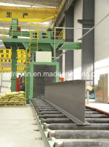 Profile Steel Surface Cleaning Sand Blasting Equipment