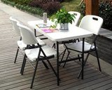 4 Foot Outdoor Folding Table Portable Chair (SY-122C) pictures & photos