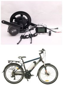 Rear Motor Electric Bicycle Kits with LCD Display (JB-BBS01) pictures & photos