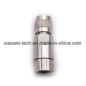 TNC Male Connector for 1/4 RF Coaxial Cable pictures & photos