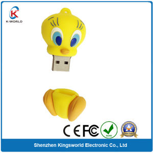 Cute PVC Duck USB Flash pictures & photos