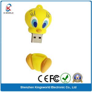 Cute PVC Duck USB Flash