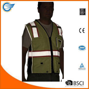 Cool Polyester Black Series Heavy Duty Safety Reflective Vest pictures & photos