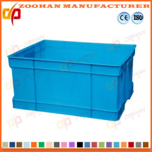 Stackable Fruits Plastic Storage Container Vegetables Transport Turnover Box (Zhtb15) pictures & photos