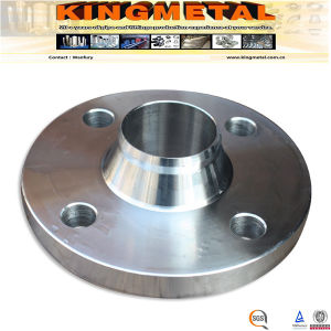 "DIN1.4571 4"" Stainless Steel Forged Wlded Neck Raise Face Flange, pictures & photos"