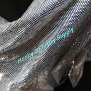 (Curtain, Room Divider) Aluminum Metal Sequin Fabric (L30509DC)