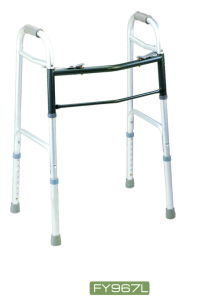 Folable Non Shining Silver Color Aluminum Walker (FY967L) pictures & photos