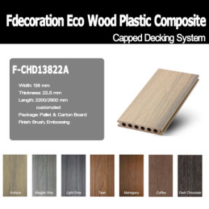 Good Surface Wood Textured Composite Plastic Wood WPC Flooring