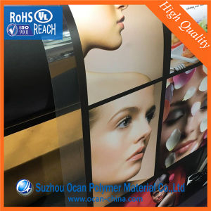 610*0.25mm Clear PVC Sheet for UV Printing pictures & photos