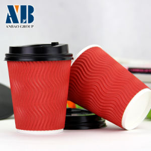 High Quality S Ripple Paper Mug