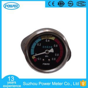 60mm 2.5′′ Black Dial Plate Manometer with Flange pictures & photos