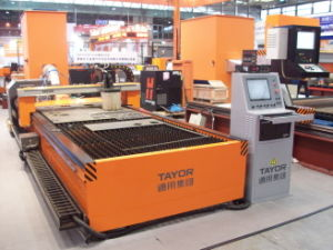 Table Type Laser-Like Plasma Cutting Machine pictures & photos