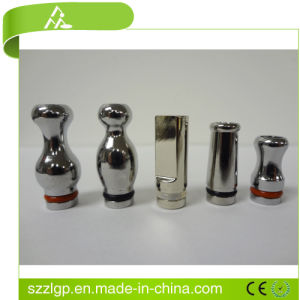 Highly Detailed Gorgeous Roto-Lathed Lotus 510 Drip Tips - Chrome