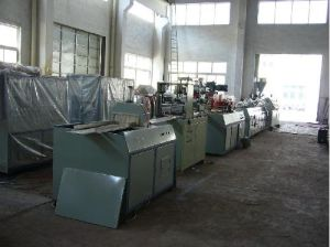 PVC Decorated Profiles/Board Production/Neck Groove Extrusion Production Line pictures & photos