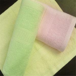 Solid Color Bamboo Fiber Satin Files Hand Towel