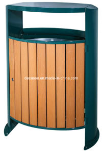 Oval WPC Outdoor Waste Bin (DL104) pictures & photos