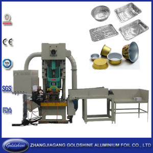 Aluminum BBQ Tray Making Machine (GS-AC-JF21-110T) pictures & photos