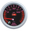 2inch 7colors High Contact Glass Oil Pressure Gauge with Sensors (7C7704-1)