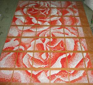 Background Mosaic Wall Tile Mosaic Pattern Tile (HMP612) pictures & photos