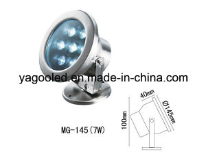 IP68 6W LED Underwater Spot Light