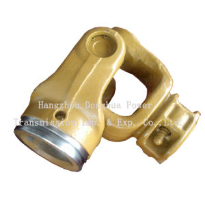ANSI Standard Painted Universal Joint Fork Tu Yuan Fork pictures & photos
