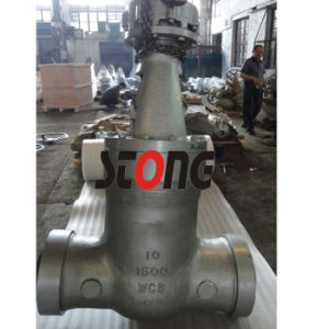 API ANSI 1500lb Bw Cast Steel Pressure Seal Gate Valve pictures & photos