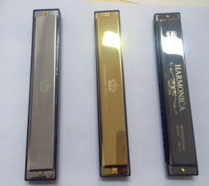 Sinomusik Brand 24 Hole Senior Performance Harmonica C Tone pictures & photos