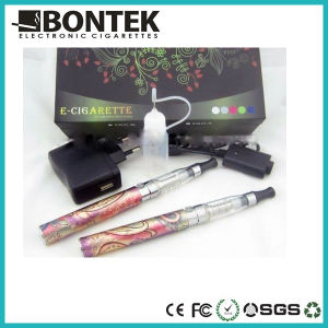 E Cigarette Dragon EGO King and Queen Electronic Cigarette with CE4 Long Wick Clearomizer pictures & photos