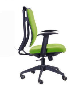 Modern Black PU Leather Office Chair Dining Chairs Meeting Chair (HX-NCD501) pictures & photos