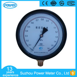 6inch-150mm Black Steel Case Brass Internal 1.6MPa Precision Pressure Gauge pictures & photos