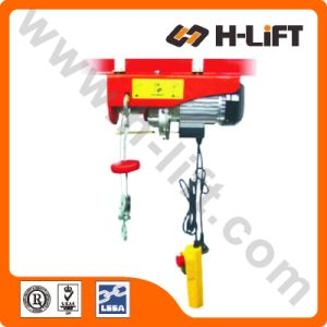 Mini Electric Wire Rope Hoist with Fast Speed (EWH-L Type) pictures & photos